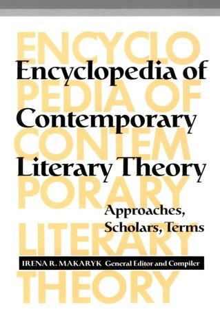 Encyclopedia of Contemporary Literary Theory Approaches, Scholars, Terms 2nd 1993 edition cover