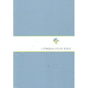 Lutheran Study Bible New Revised Standard Version  2009 edition cover