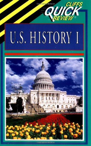 U. S. History I   1998 (Student Manual, Study Guide, etc.) edition cover