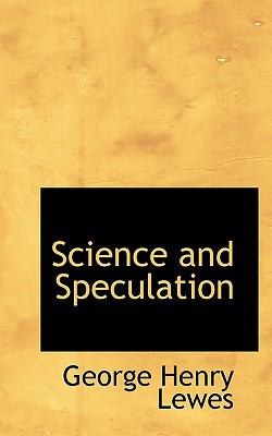 Science and Speculation  N/A 9781116786606 Front Cover