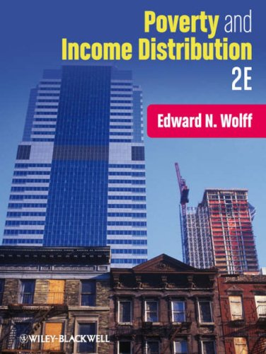 Poverty and Income Distribution  2nd 2009 edition cover