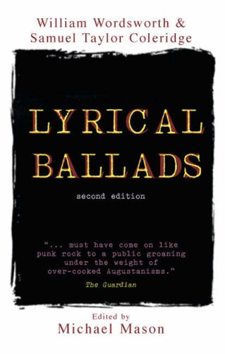 Lyrical Ballads  2nd 2006 9781405840606 Front Cover