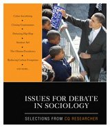 Issues for Debate in Sociology Selections from CQ Researcher  2010 edition cover