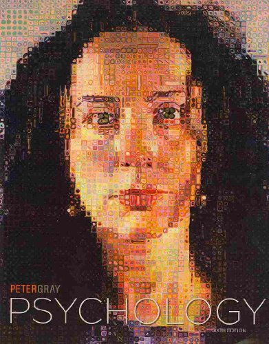 Psychology  6th 2010 9781429246606 Front Cover
