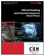 Ethical Hacking and Countermeasures Attack Phases  2010 edition cover