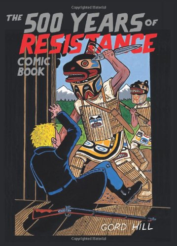 500 Years of Resistance Comic Book   2010 edition cover