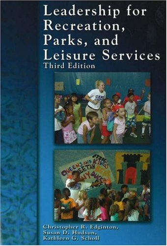 Leadership for Recreation, Parks, and Leisure Service  3rd 2005 edition cover