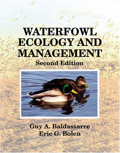 Waterfowl Ecology and Management  2nd 2006 edition cover
