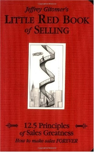Little Red Book of Selling 12.5 Principles of Sales Greatness  2004 edition cover