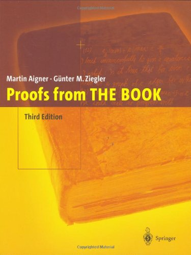 Proofs from the Book  3rd 2004 (Revised) edition cover