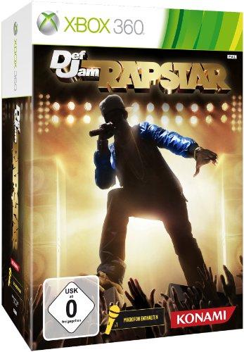 Def Jam Rapstar inkl. Mikrofon Xbox 360 artwork