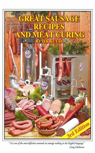 Great Sausage Recipes and Meat Curing  3rd 1987 edition cover
