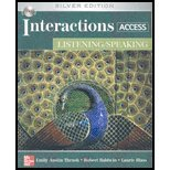 INTERACTIONS ACCESS:LISTEN./SP N/A edition cover