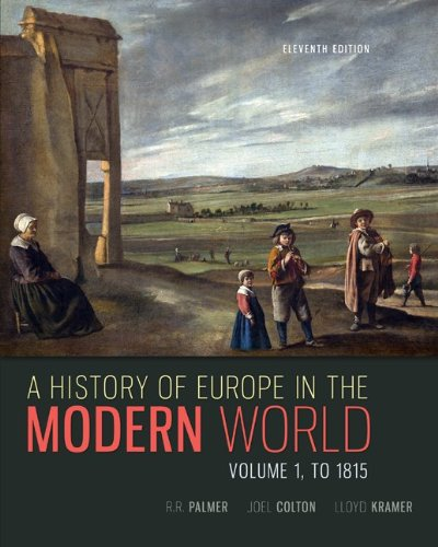 A History of Europe in the Modern World:   2013 9780077599607 Front Cover