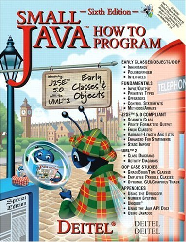 Small Java How to Program  6th 2005 (Revised) edition cover