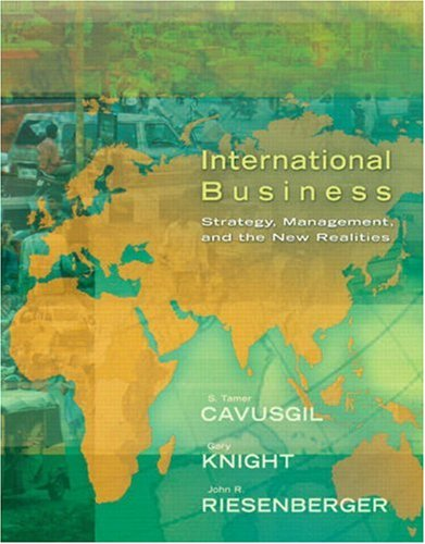 International Business Strategy, Management, and the New Realities  2008 9780131738607 Front Cover
