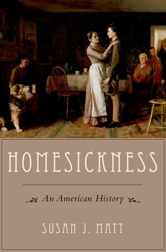 Homesickness An American History  2014 edition cover
