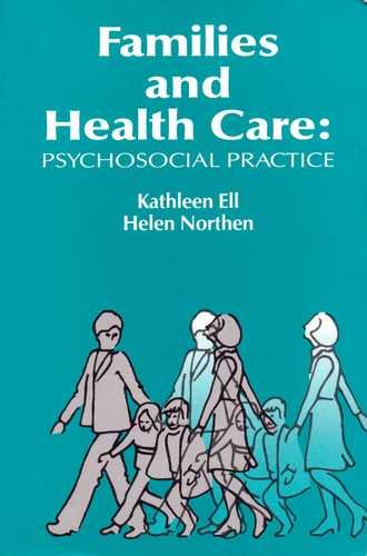 Families and Health Care Psychosocial Practice N/A edition cover