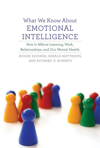 What We Know about Emotional Intelligence How It Affects Learning, Work, Relationships, and Our Mental Health  2009 9780262012607 Front Cover