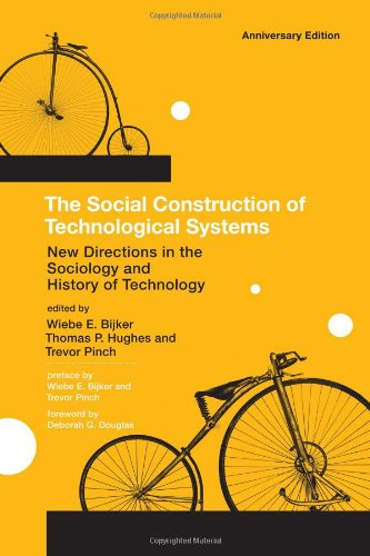 Social Construction of Technological Systems New Directions in the Sociology and History of Technology  2012 edition cover