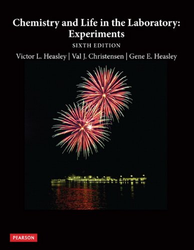 Chemistry and Life in the Laboratory Experiments 6th 2013 (Revised) 9780321751607 Front Cover