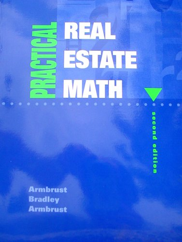 Practical Real Estate Math  2nd 1995 (Revised) edition cover