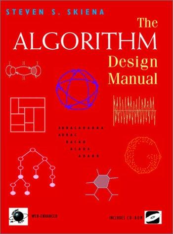 Algorithm Design Manual   1998 edition cover