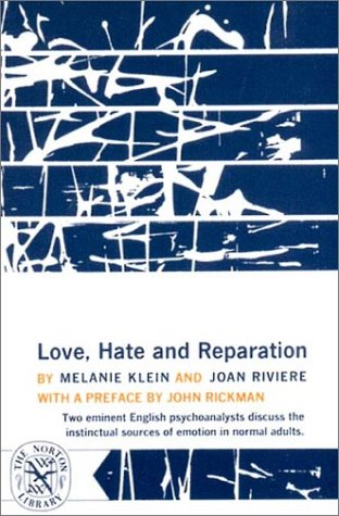 Love, Hate and Reparation  N/A edition cover