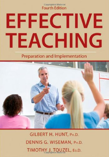 Effective Teaching : Preparation and Implementation 4th 2009 edition cover