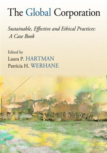 Global Corporation Sustainable, Effective and Ethical Practices  2010 edition cover