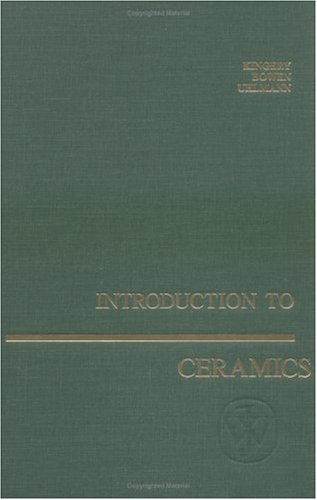 Introduction to Ceramics  2nd 1976 (Revised) 9780471478607 Front Cover