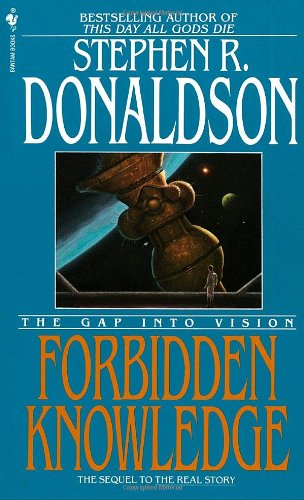 Forbidden Knowledge The Gap into Vision N/A 9780553297607 Front Cover