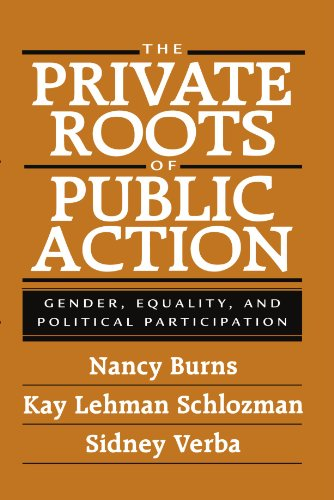 Private Roots of Public Action Gender, Equality, and Political Participation  2001 edition cover