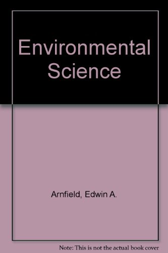 Environmental Science A Field and Laboratory Manual 3rd 2003 (Revised) 9780757505607 Front Cover