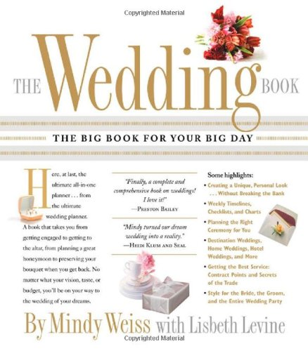 Wedding Book The Big Book for Your Big Day  2008 edition cover