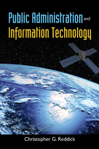 Public Administration and Information Technology   2013 (Revised) edition cover