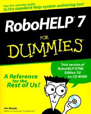 Robohelp 7 for Dummies   1999 9780764505607 Front Cover