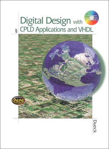 Digital Design with CPLD Applications and VHDL   2001 edition cover