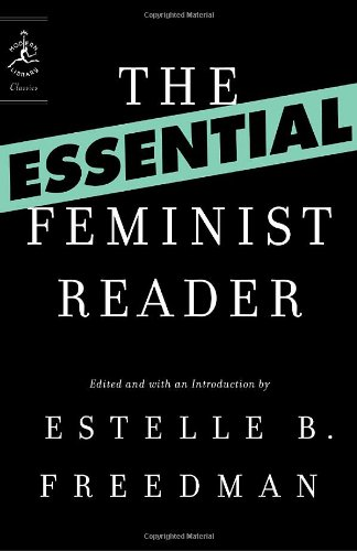 Essential Feminist Reader   2007 edition cover