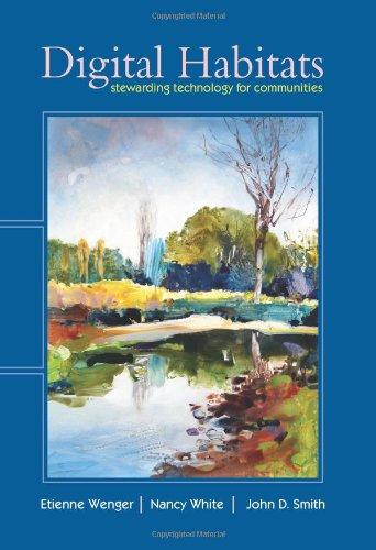 Digital Habitats Stewarding technology for Communities  2009 edition cover