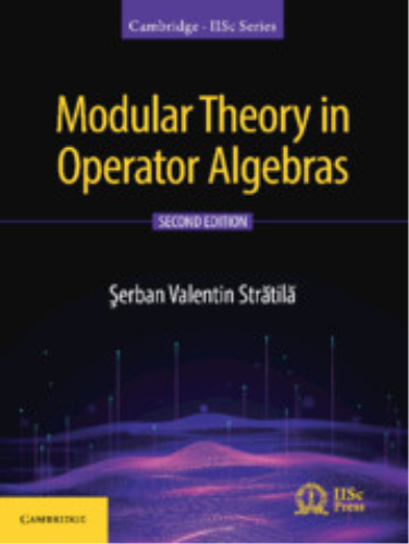 Cover art for Modular Theory in Operator Algebras, 2nd Edition