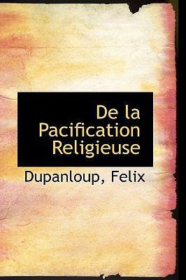 De la Pacification Religieuse  N/A edition cover