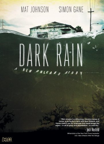 Dark Rain A New Orleans Story  2010 9781401221607 Front Cover