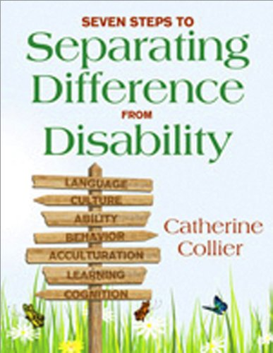 Seven Steps to Separating Difference from Disability   2011 edition cover