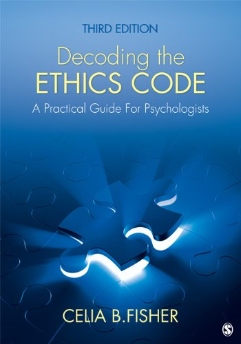 Decoding the Ethics Code A Practical Guide for Psychologists 3rd 2013 edition cover