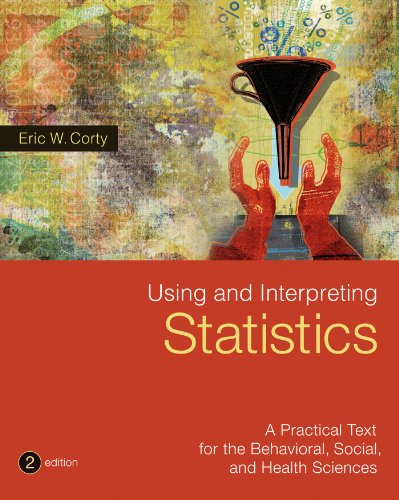 Using and Interpreting Statistics: 2nd 2013 edition cover