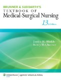 Textbook of Medical-Surgical Nursing  13th 2014 (Revised) 9781451130607 Front Cover
