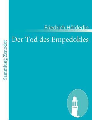 Tod des Empedokles   2010 9783843054607 Front Cover