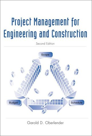 Project Management for Engineering and Construction  2nd 2000 9780070393608 Front Cover