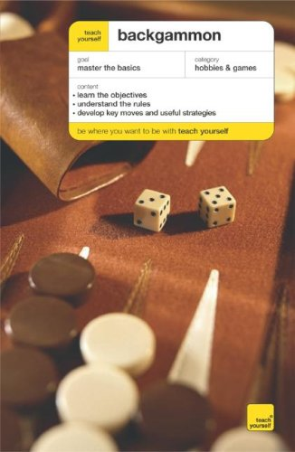 Teach Yourself Backgammon   2007 9780071482608 Front Cover